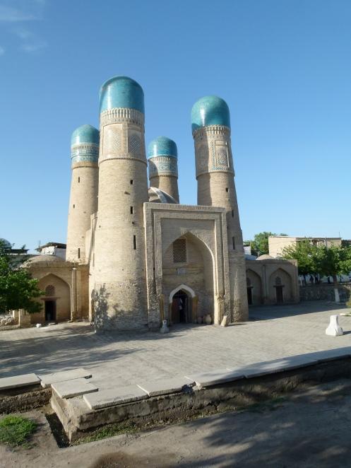 The Little Char Minar Mosque, Buchara