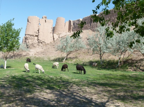 Guldursun Kala Fort. East of Khiva. 4-1BC