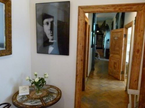 In Mikail Bulgakov's Apartment. Moscow