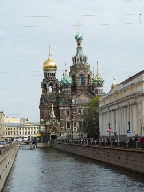 Church of the Saviour on Spilt Blood, St Petersburg