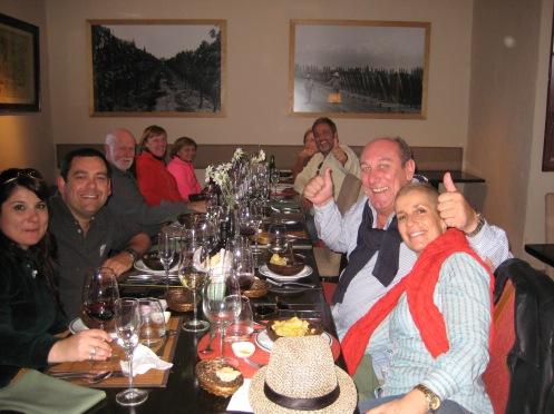 Enjoying the Wine Tour, Mendoza