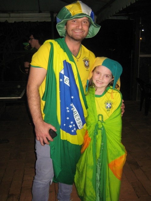 It May Be Aussie Colours But That Wasn't The Team He Was Rooting For