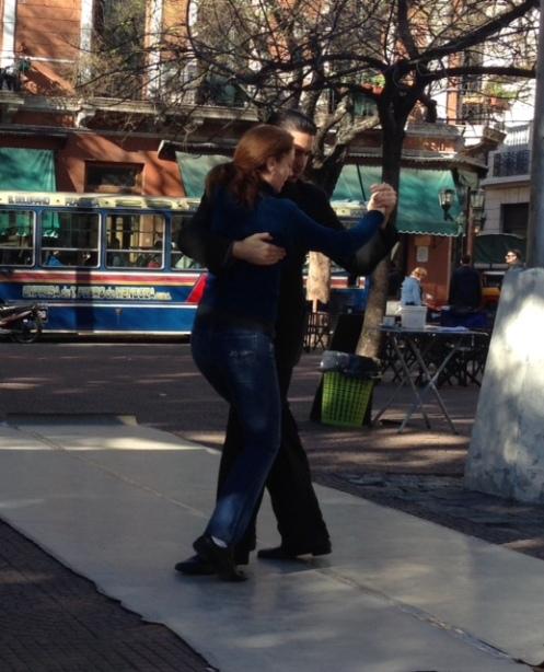 Tango in Plaza Dorreega