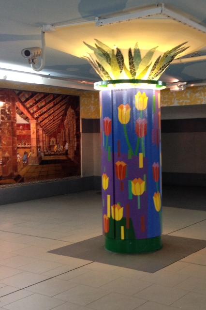 Colour on the Metro